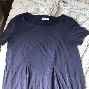 Navy Blue urban outfitters tshirt dress